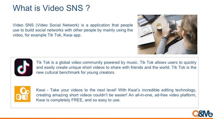 Video SNS popularity in Vietnam