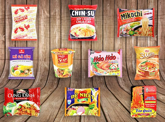Top favorite instant noodles