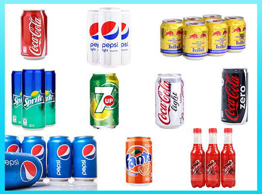 Top favorite soft drink brands